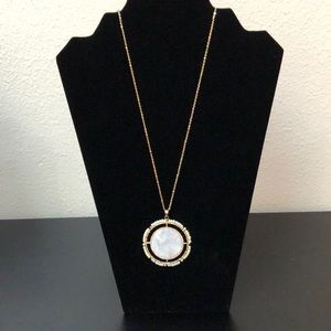 Natasha medallion necklace. NEW with tags